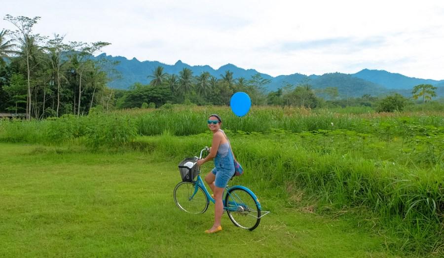 Borobudur cycling tour