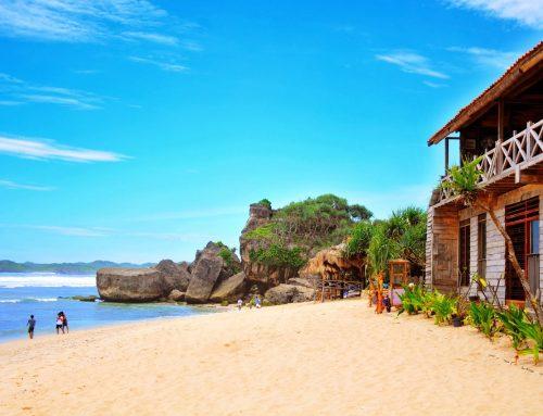 Pesona Si Putih Pantai Indrayanti (Pantai Pulang Syahwal)