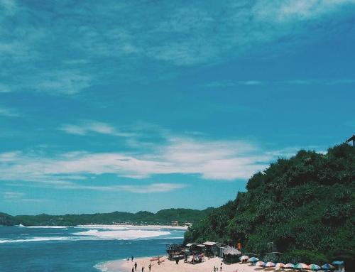 Pantai Ngandong, Pantai Favorit Millenial