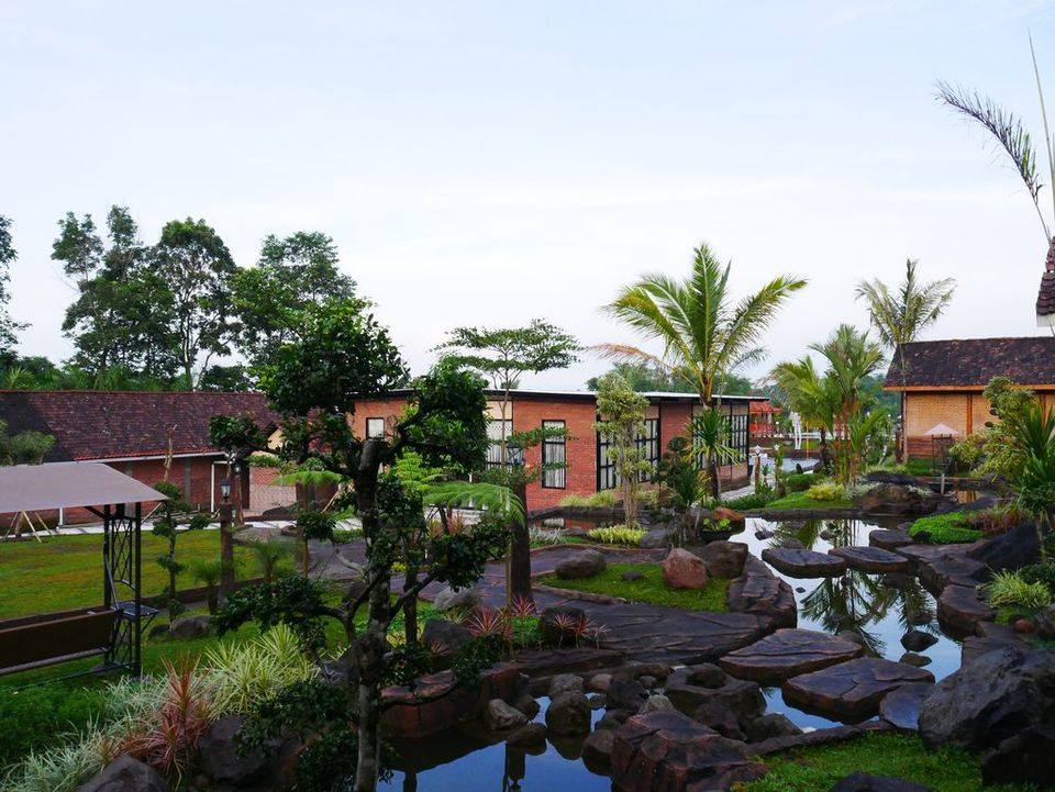 kolam d'kaliurang resort