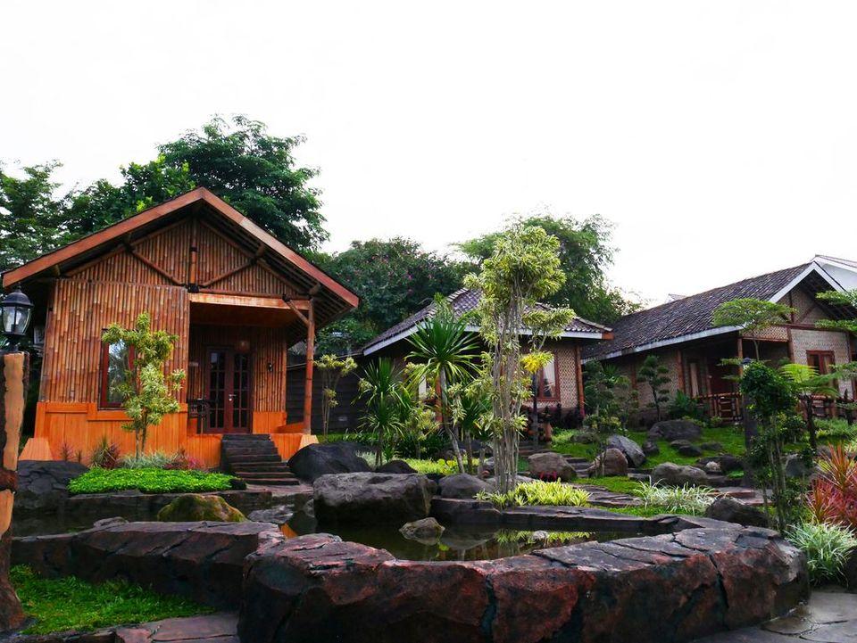 rumah bambu d'kaliurang resort 1