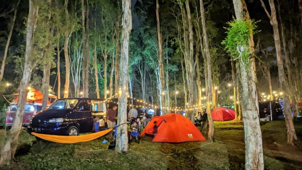 camping bukit lintang sewu